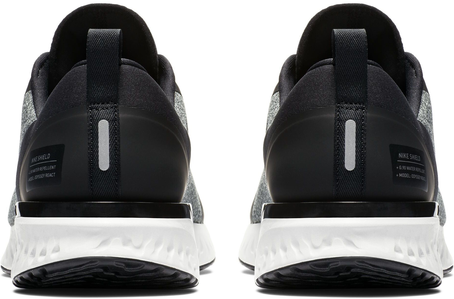 bb606e0cb6f1c Nike Odyssey React Shield Running Shoes Men black at Addnature.co.uk